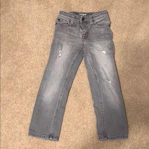 Cat & Jack Gray Destructed Jeans